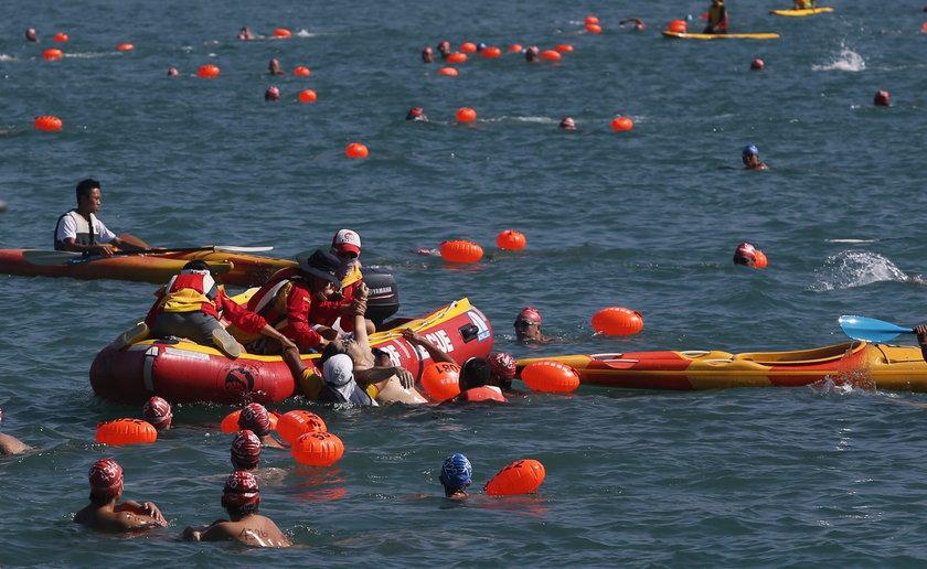 Tragedia podczas zawodów pływackich w Chinach. Śmierć zawodnika