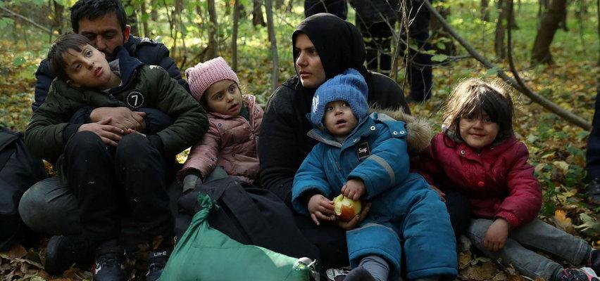 Gdzie jest rodzina z szóstką dzieci znaleziona w Hajnówce?