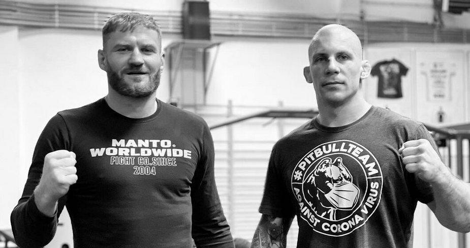"""Damian Janikowski krótko o sparingach z mistrzem UFC: """"Wiecie czym się kończą sparingi z Jankiem…"""""""