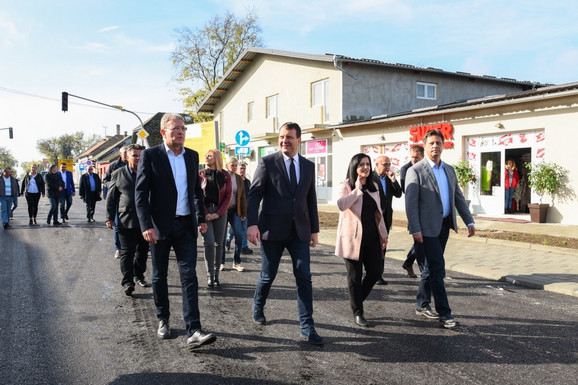 Obilazak radova, Igor Mirović u Odžacima