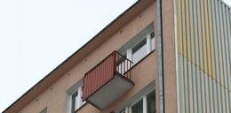 Kobieta wypadła z 10. piętra bloku. Spadła na krzak