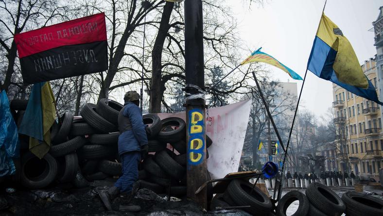 Protesty na Ukrainie trwają od listopada