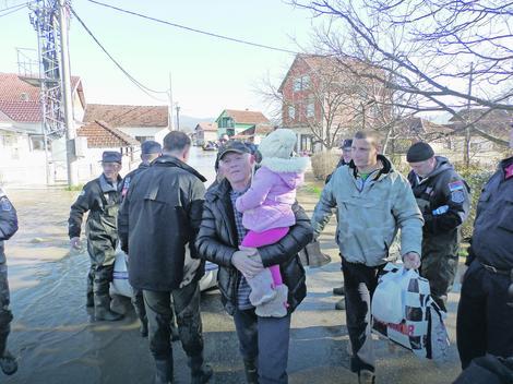 Drugi put za manje od dve godine: Evakuacija meštana iz Grdica pred poplavnim talasom