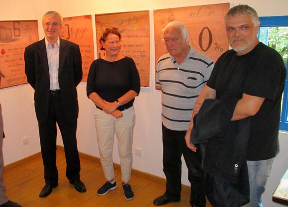 Izložba je  otvorena u Muzeju jezika i pisma u Tršiću