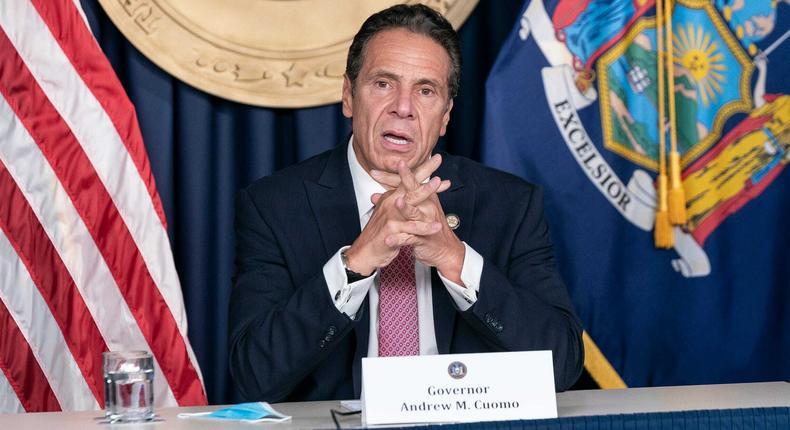 Gov. Andrew Cuomo of New York.