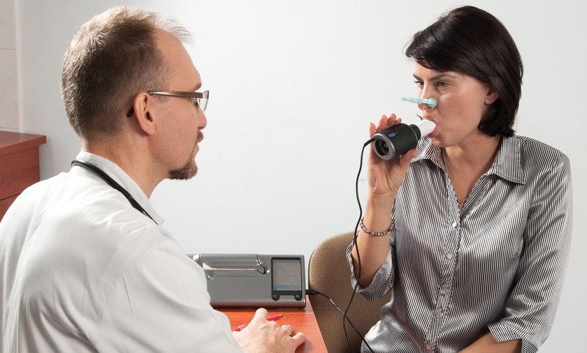 Jeśli dokucza ci: kaszel, świszczący oddech, duszność w trakcie wysiłku - zrób badanie spirometryczne