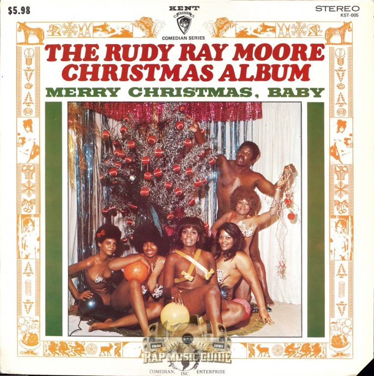 "The Rudy Ray Moore Christmas Album - ""Merry Christmas Baby"""