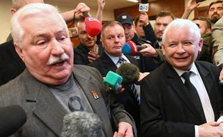 Kaczyński i Wałęsa w sądzie w Gdańsku