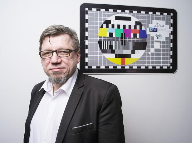 Witold Kołodziejski: Najczęściej oglądam TVP Kultura, która ma bardzo dobry, przy tym nie przesadnie elitarny poziom. Wydawałoby się, że to program dla każdego, kto ma choćby minimalne ambicje intelektualne, niestety ma minimalny udział w rynku. Fot. Darek Golik.