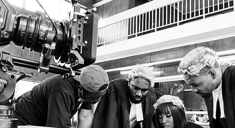 BTS from 'One Too Many'  directed by Kayode Kasum [Instagram/kayodekasum]