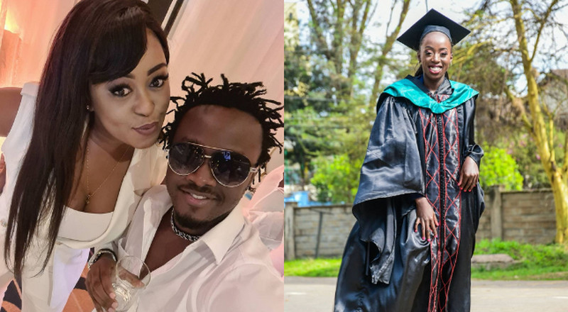 Lillian Muli, Bahati & PLO Lumumba among celebrities at Akothee's daughter's graduation party (Video)
