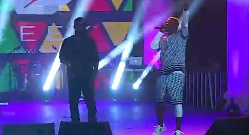 Shatta Wale joins Sarkodie to perform at Black Love Concert