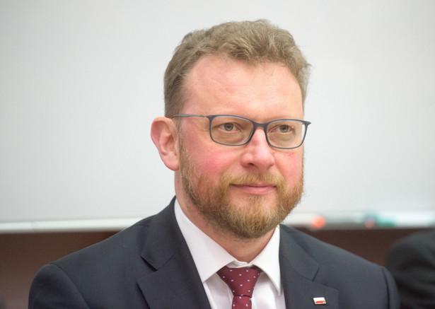 prof. Łukasz Szumowski, minister zdrowia