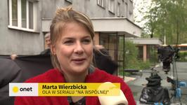 """Marta Wierzbicka odchodzi z """"Na Wspólnej"""""""