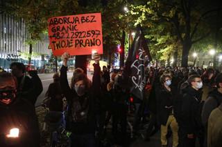 W Warszawie zakończył się protest przeciwko wyrokowi TK ws. aborcji