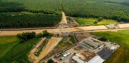 Trwa budowa kolejnego odcinka S5 pod Gnieznem. Zobacz jak wygląda z góry!