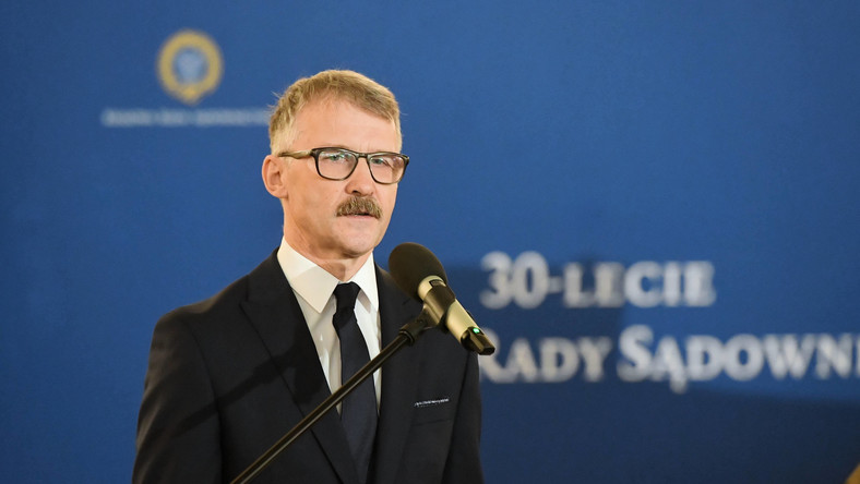 Przewodniczący Krajowej Rady Sądownictwa, sędzia Leszek Mazur