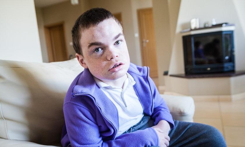 Maciej Smolarkiewicz chory na mukopolisacharydozę typu 2