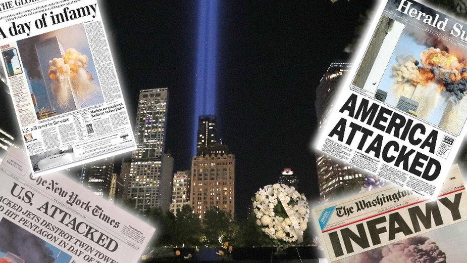 """""""Dzień terroru"""". Jak media informowały o ataku na World Trade Center?"""