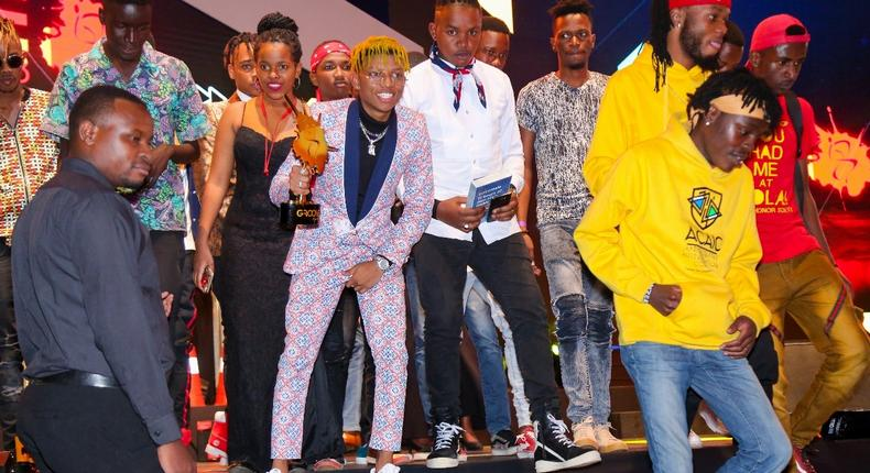 Masterpiece wins Teens Choice Song of the Year 2018 (MG100)