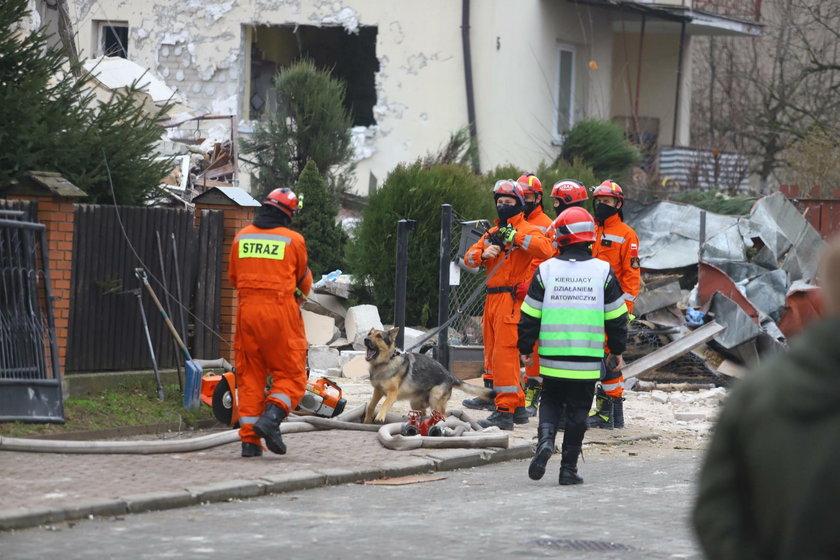 Wybuch gazu w Puławach