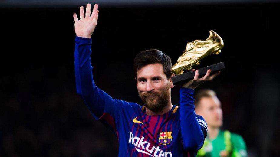 Leo Messi fot.  Alex Caparros/Getty Images