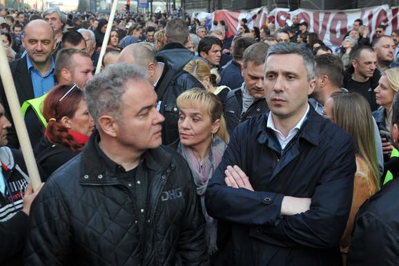 EU - OPOZICIONA JABUKA RAZDORA Sve češći OTVORENI SUKOBI među parnerima u SzS zbog ideologije