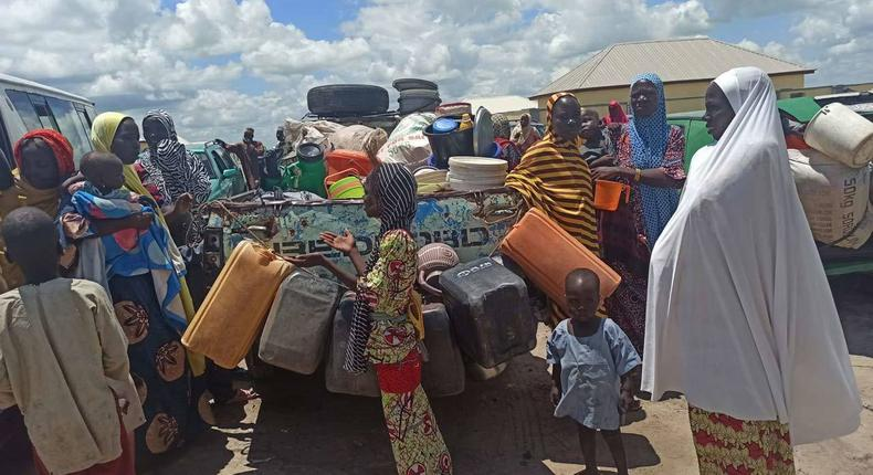 Borno Govt resettles displaced persons occupying schools (Guardian)