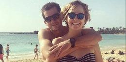 Ciężarna Jędrzejczak w bikini na wakacjach z partnerem