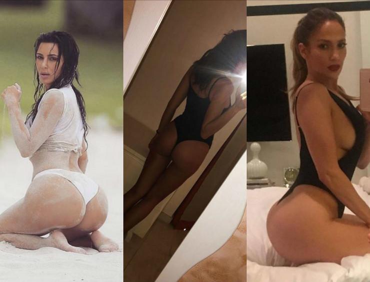 Kim Kardašijan, Irina Šajk, Dženifer Lopez