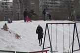 Utorak 2702, Sneg, Zima, Novi Beograd