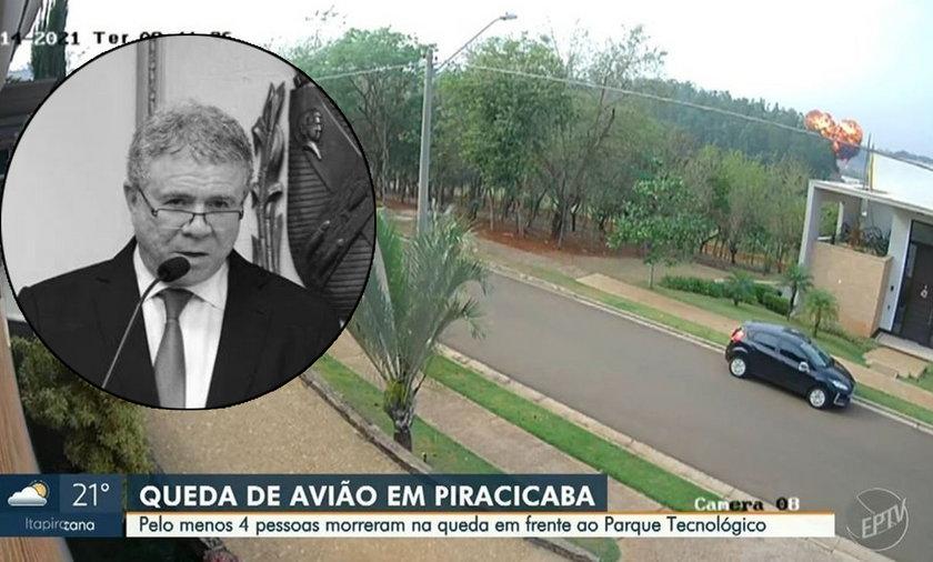 Brazylijski miliarder z rodziną zginęli w katastrofie lotniczej.