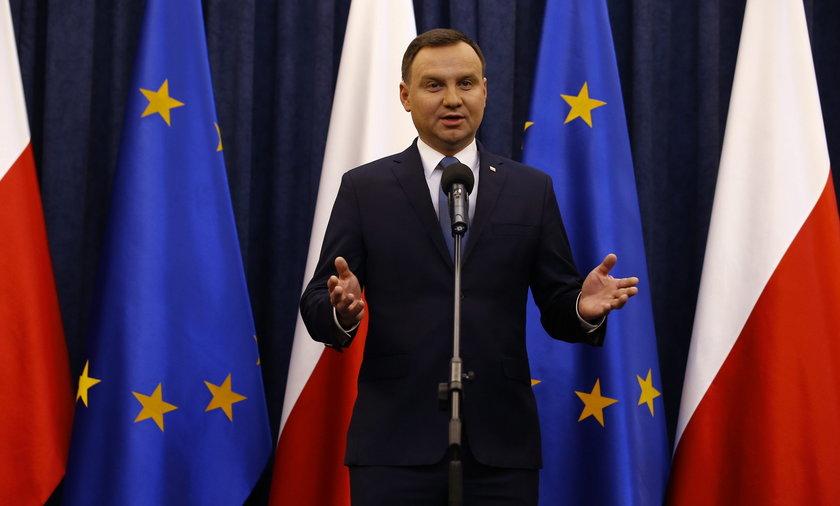 Andrzej Duda został sam w Kapitule Orderu Orła Białego