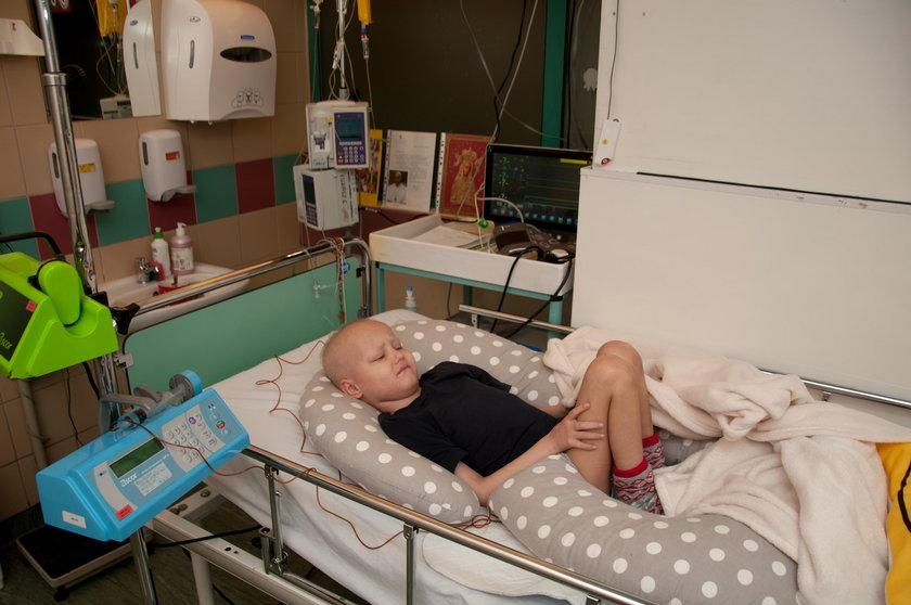 Wigilię spędzi w szpitalu