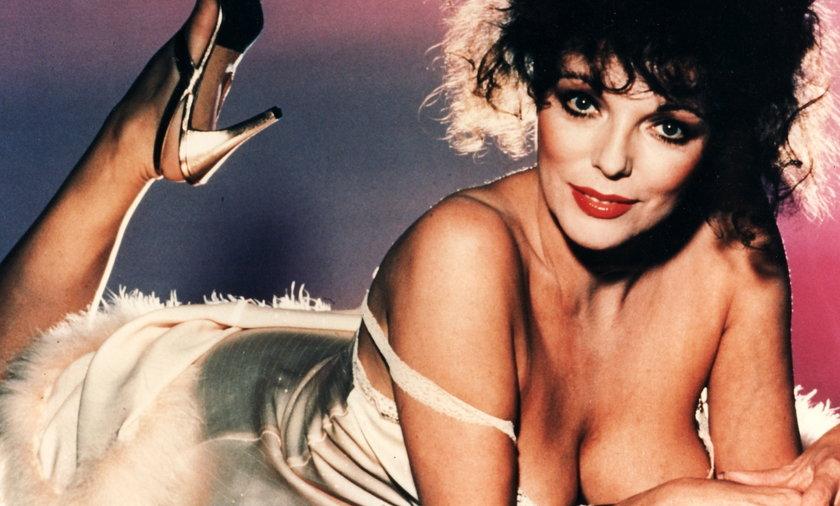"""Joan Collins był największą gwiazdą """"Dynastii"""". Zagrała typowy """"czarny charakter"""", czyli Alexis"""