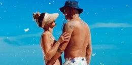 Majdanowie pokazali intymne zdjęcia z plaży. Radosław trochę zapomniał się przy żonie!