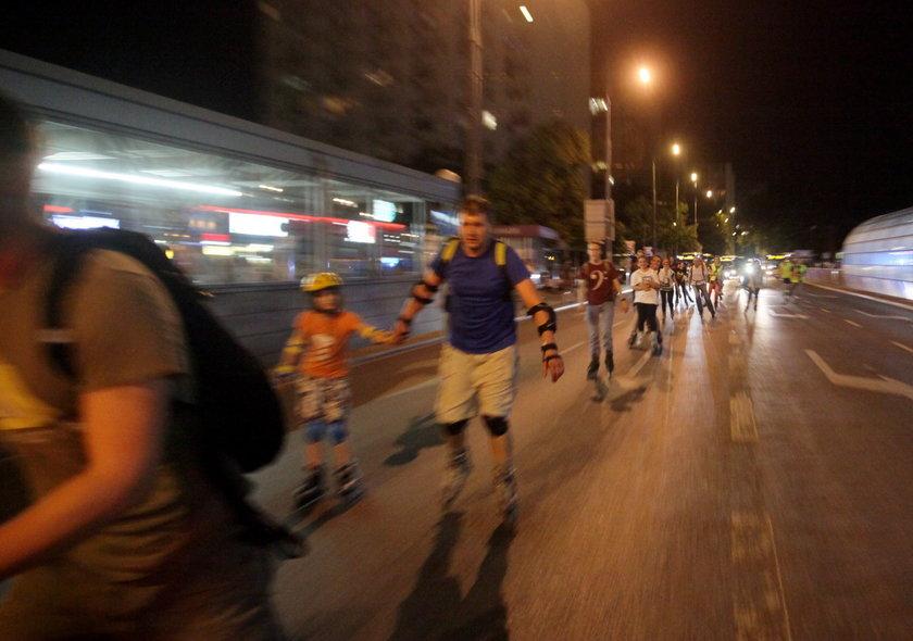 Rolkarze przejadą ulicami Warszawy