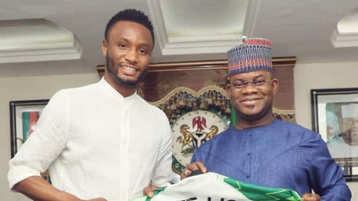 Mikel Obi has promised to support Gov Bello's bid for the presidency