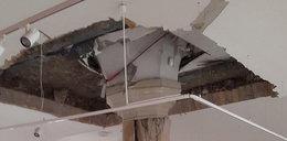 Zawalił się strop na Zamku Książąt Pomorskich w Szczecinie. Szukają rannych