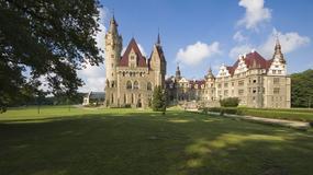 Zamki województwa opolskiego - Moszna, Brzeg, Sulisław i inne