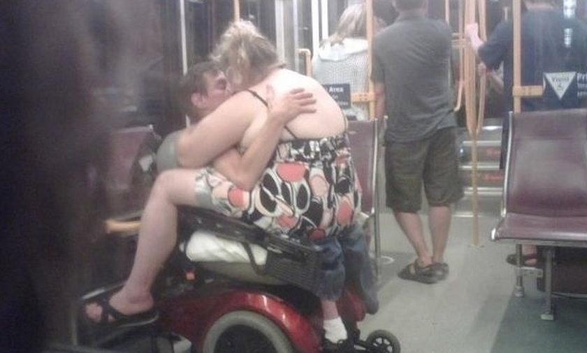Takie rzeczy robią w metrze
