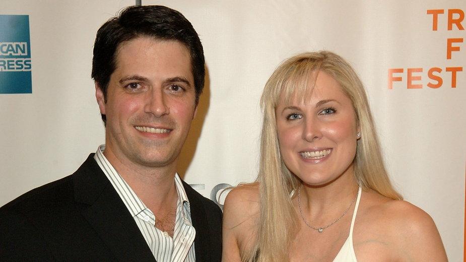 Nick Guthe z żoną Heidi Ferrer