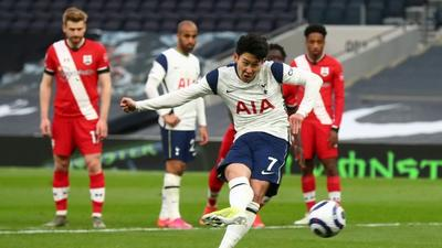 Son gives Spurs winning start to life after Mourinho