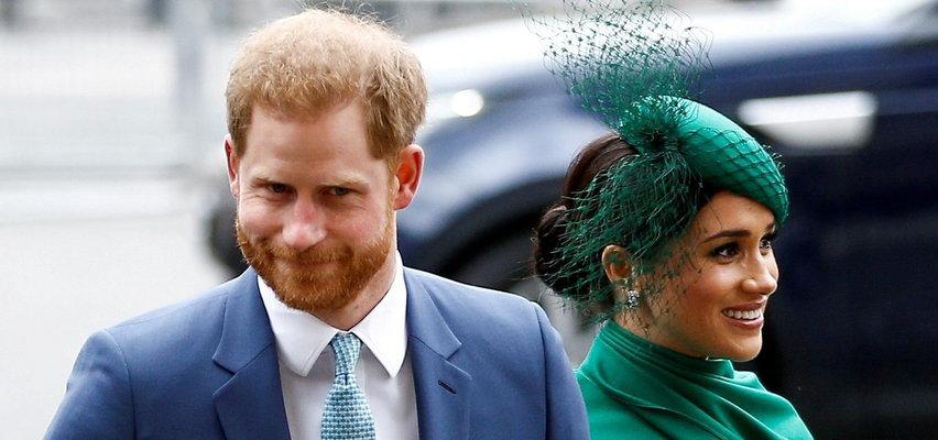 Tajemnicza wiadomość Harry'ego i Meghan. Rodzina królewska nie będzie zadowolona