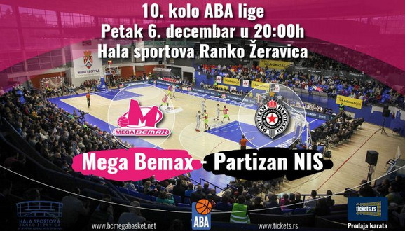 Mega Partizan najava