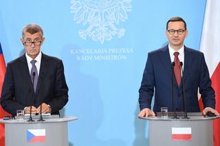 Morawiecki i Babisz zapowiedzieli rozmowy Grupy Wyszehradzkiej, żeby uniknąć 'twardego' Brexitu