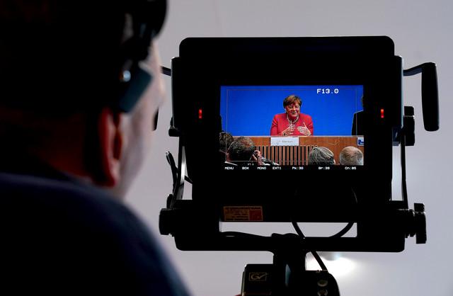 Zabrinjavajući napadi na novinare: Angela Merkel (foto: arhiva)