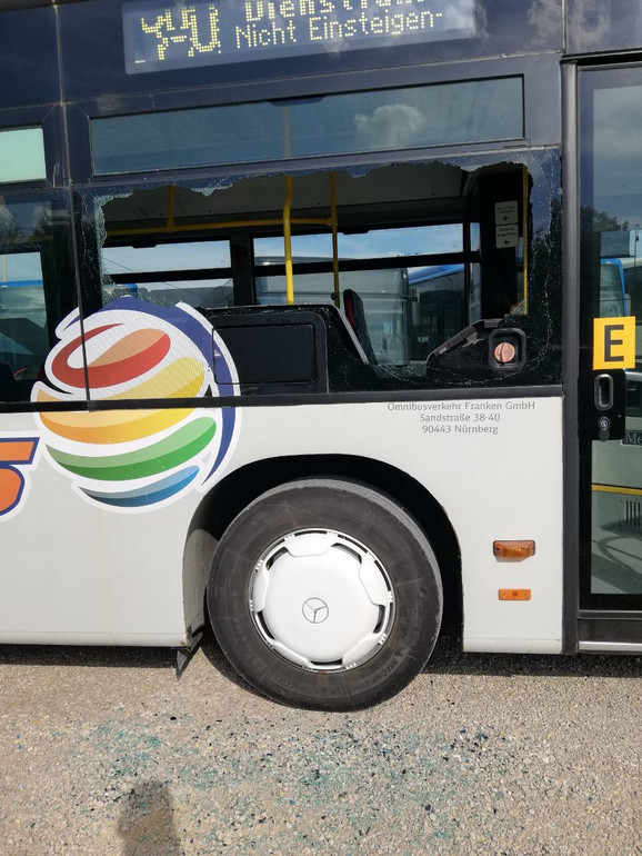 Jedan od autobusa prevoznika