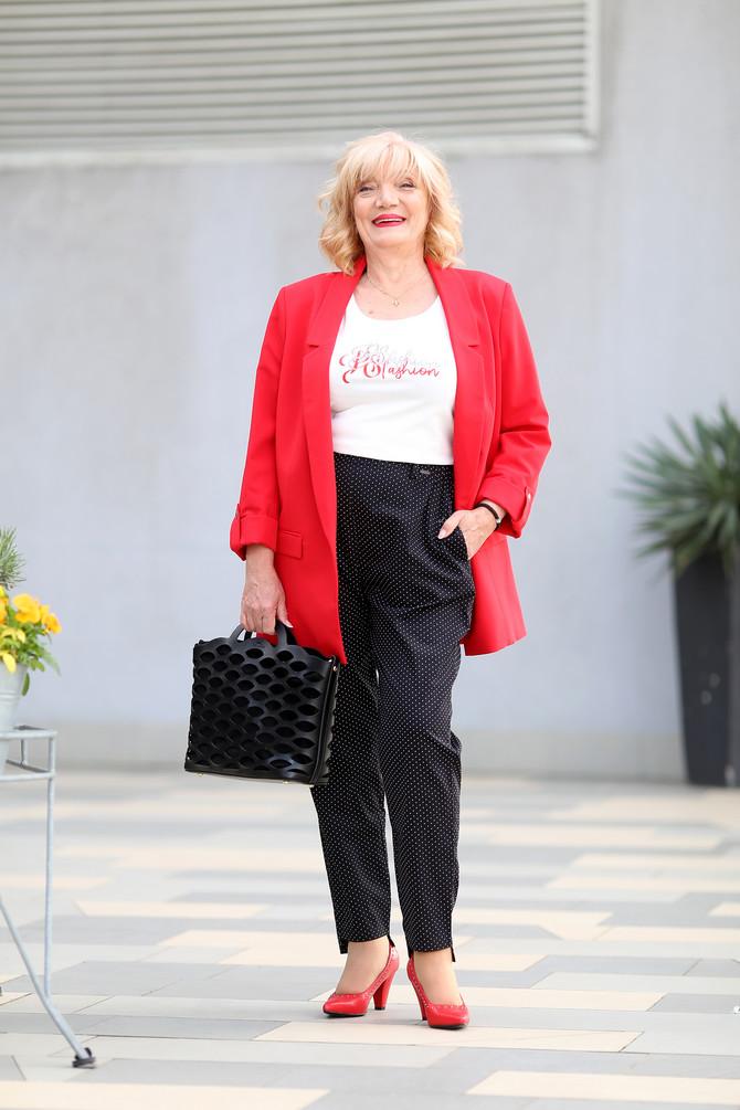 """Sako, majica, pantalone i tašna """"P…. S…. fashion"""", cipele """"Deichmann"""""""