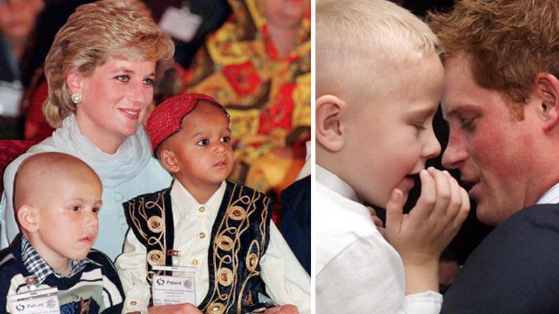 Książę Harry jak księżna Diana!